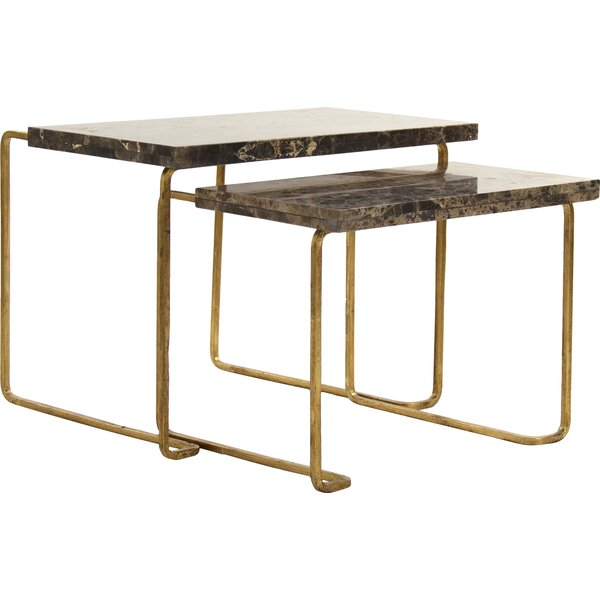 Amoux Nesting Tables (Set of 2) by Zentique Zentique
