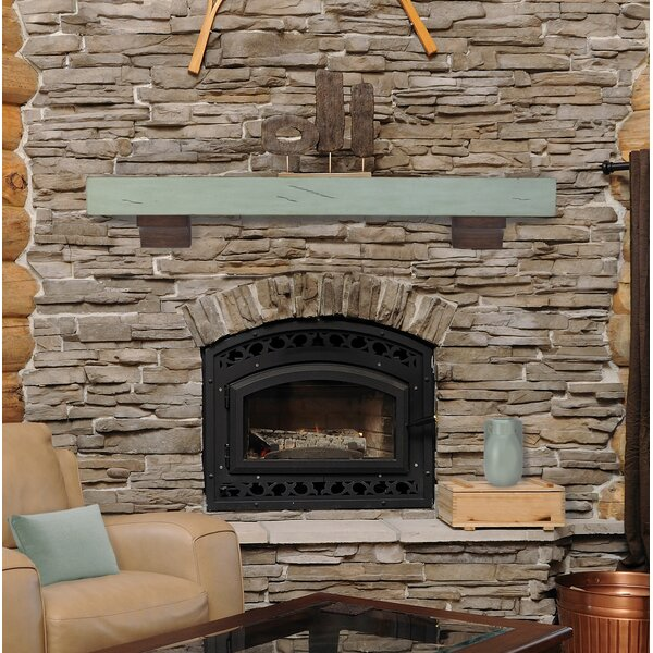 The Shenandoah Fireplace Shelf Mantel by Pearl Mantels