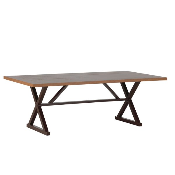 Cahaba Rectangular Wrought Aluminum Dining Table by Summer Classics