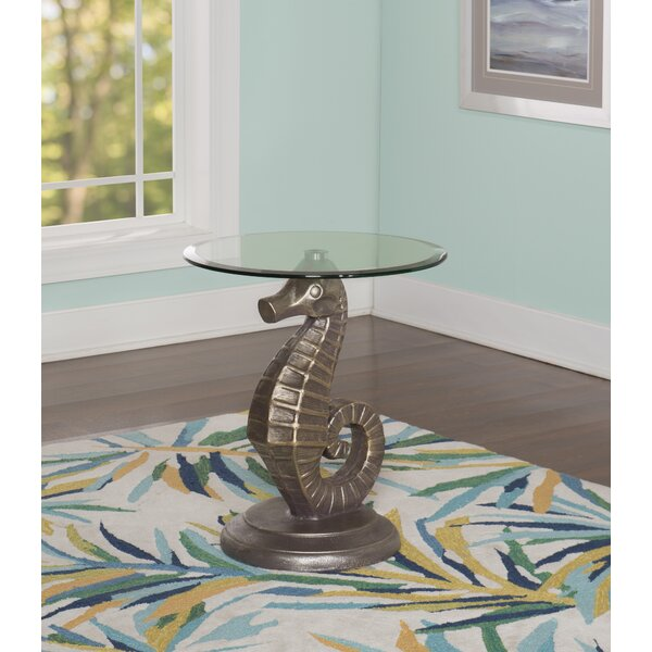 Powers End Table by Rosecliff Heights