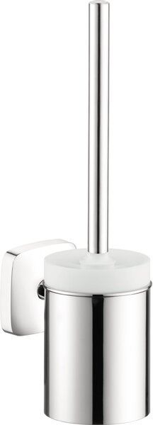 Puravida Wall MountedToilet Brush and Holder by HansgrohePuravida Wall MountedToilet Brush and Holder by Hansgrohe