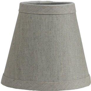 Chandelier shades youll love wayfair hardback 5 linen empire lamp shade aloadofball Images