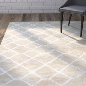 Heldt Hand-Tufted Taupe/Gray Area Rug