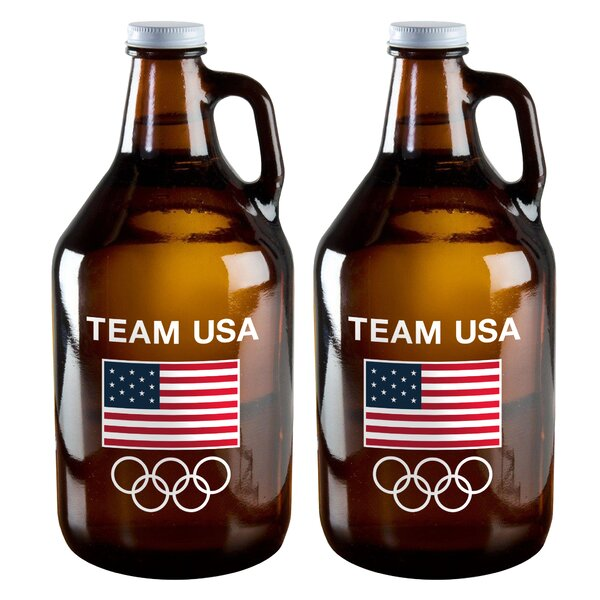 Olympics 64 Oz. Jar (Set of 2) by Boelter Brands