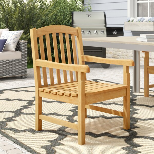 Myricks Dining Arm Chair by Beachcrest Home