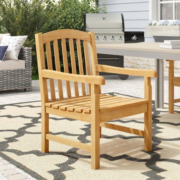 Myricks Dining Arm Chair By Beachcrest Home