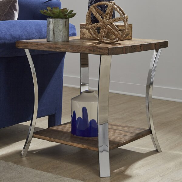 Juniata End Table by Gracie Oaks