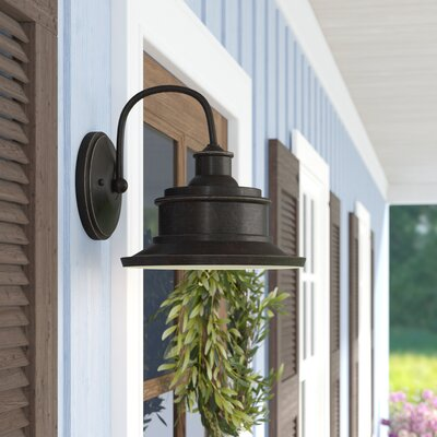 Nightingale Outdoor Barn Light Laurel Foundry Modern Farmhouse Fixture Finish: Imperial Bronze