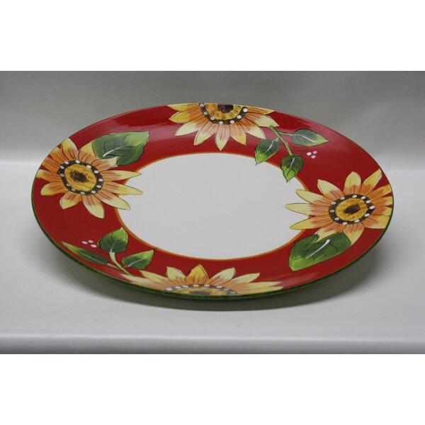 Round Ceramic Serving Tray by Desti Design
