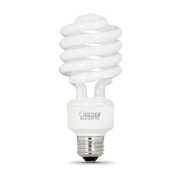 Frosted E26/Medium Compact Fluorescent Light Bulb by FeitElectric