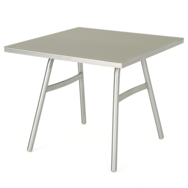 Gagne Metal Dining Table by Orren Ellis