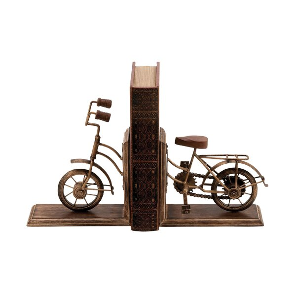 Metal Book Ends (Set of 2) by Cole & Grey