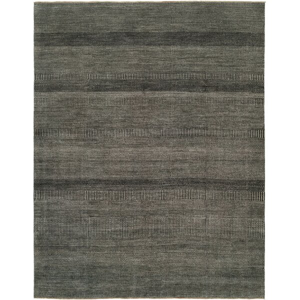 Illusions Grey/Charcoal Area Rug by Shalom Brothers