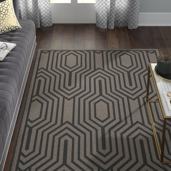 Sula Charcoal Area Rug by Willa Arlo Interiors