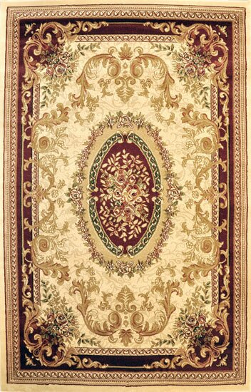 Pettigrew Ivory Area Rug by Astoria Grand