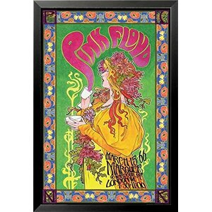 'Pink Floyd London March 1966 Marquee Concert' by Bob Masse Framed Graphic Art by Buy Art For Less