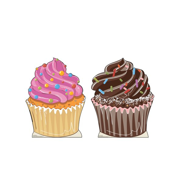 Cupcakes Standup by Advanced Graphics