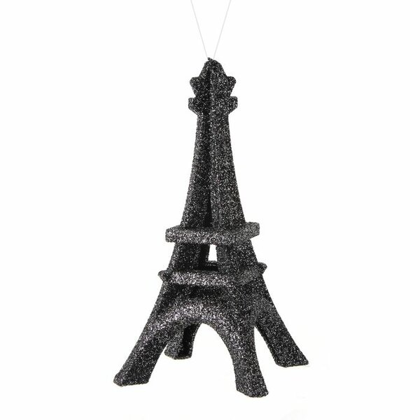 Glitter Eiffel Tower Ornament by The Holiday Aisle
