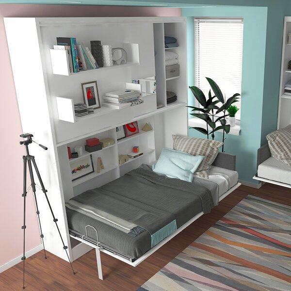 Gautreau Parete Letto Wall Twin Murphy Bed by Brayden Studio