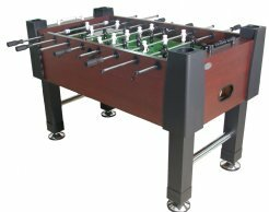 The Player Foosball Table by Berner Billiards