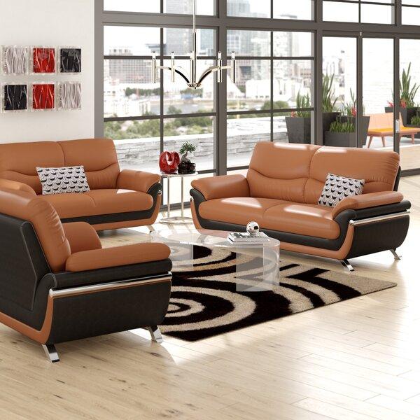 Conant 3 Piece Living Room Set by Ebern Designs