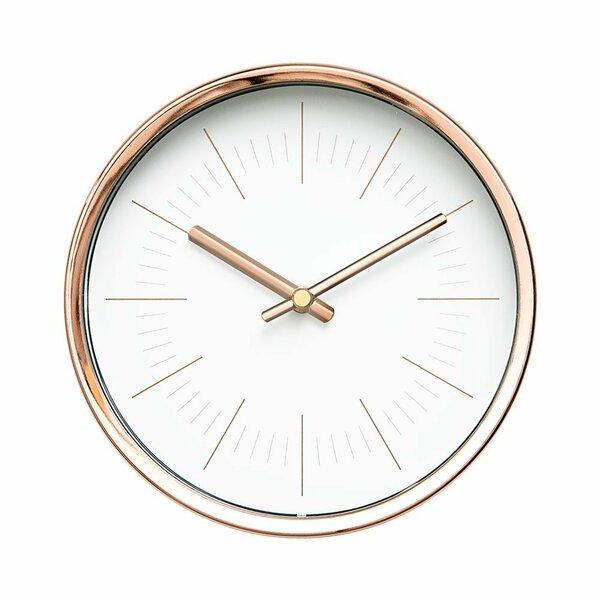 Frechette Modern 6 Wall Clock by Wrought Studio
