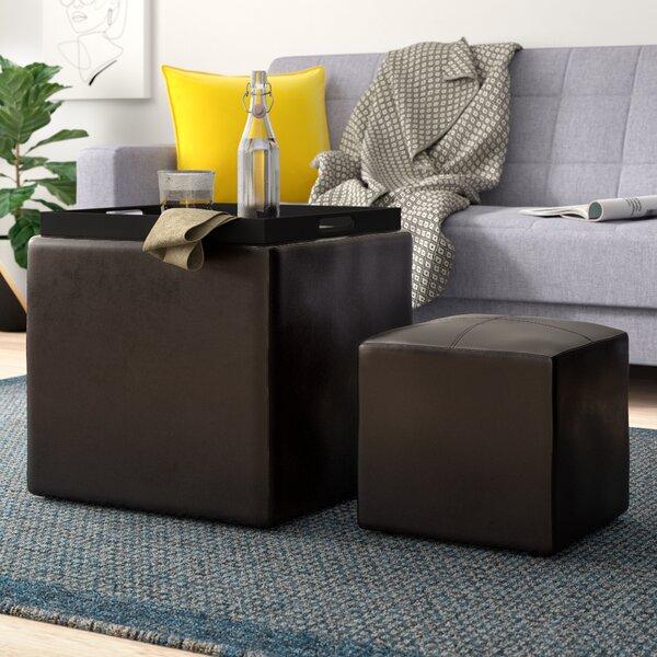 Marla 2 Piece Cube Ottoman Set By Zipcode Design