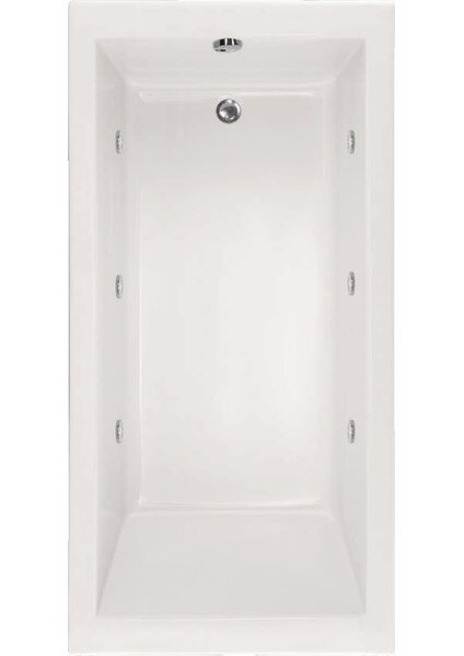 Designer Lacey 60 x 30 Soaking Bathtub by Hydro Systems