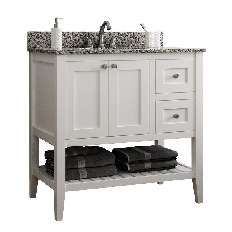 Single Bathroom Vanity Base Only