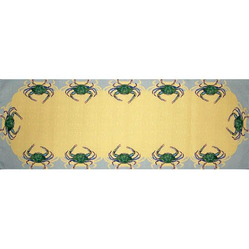 Liesl Crab Table Runner (Set of 4) by Highland Dunes
