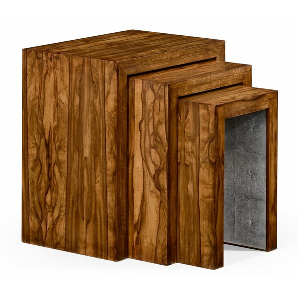 3 Piece Nesting Tables by Jonathan Charles Fine Furniture