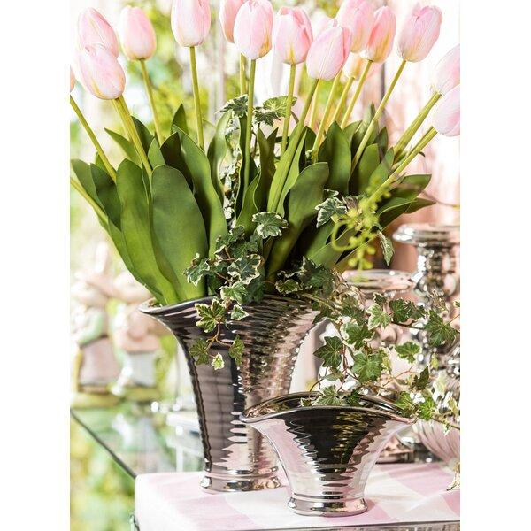 Briarcliffe Table Vase Set (Set of 2) by Orren Ellis