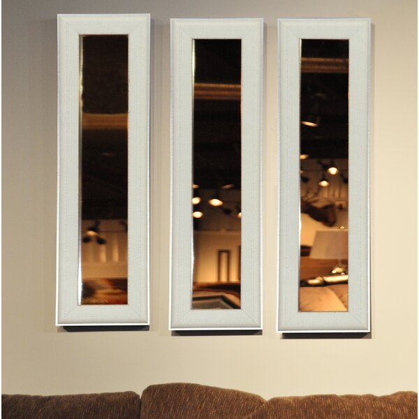 3 Piece Wanneroo Panels Mirror Set (Set of 3) by Wrought Studio