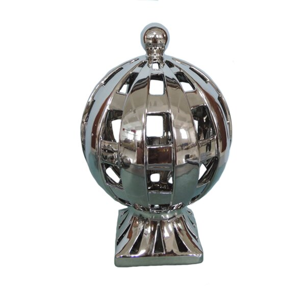 Ceramic Décor Globe by Charlton Home