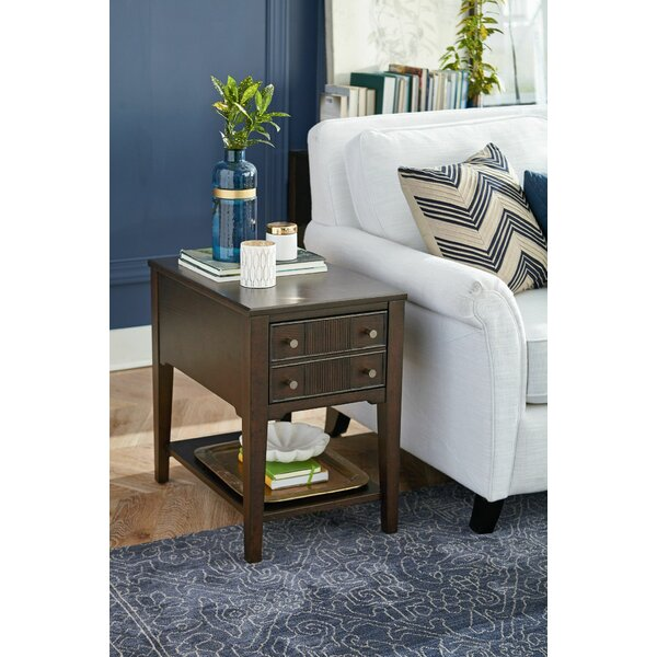 Angleterre End Table With Storage By Ivy Bronx
