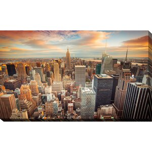 'New York City' Photographic Print on Wrapped Canvas by Picture Perfect International