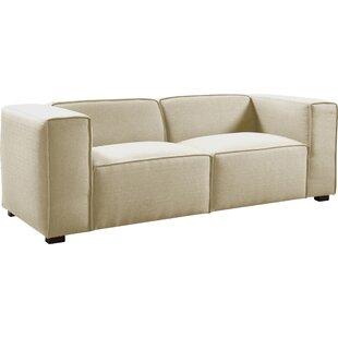 Nice Overstuffed Couch | Wayfair