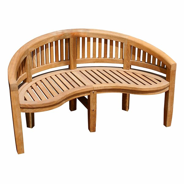Monet Wood Garden Bench by ACHLA