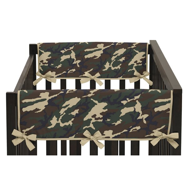 Camo Side Crib Rail Guard Cover (Set of 2) by Sweet Jojo Designs