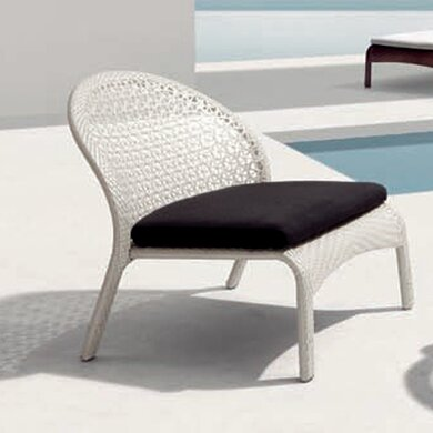 South Lounge Chair with Cushion by 100 Essentials
