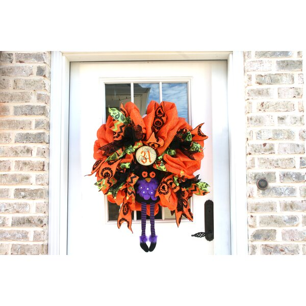 Purple Owl Custom 27 Wreath by The Holiday Aisle