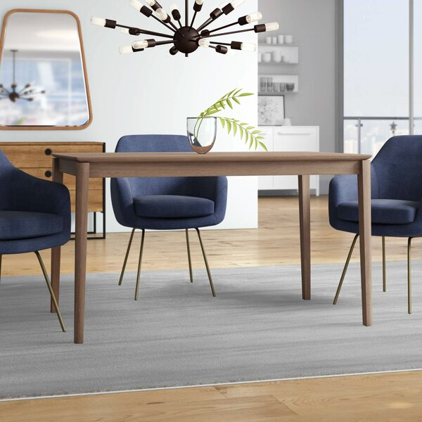 Grimmer Rectangular Dining Table by Ivy Bronx