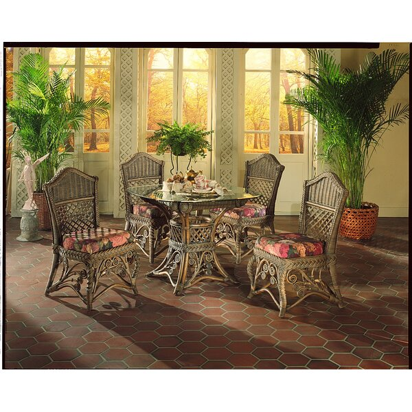 Gazebo 5 Piece Dining Set by Yesteryear Wicker