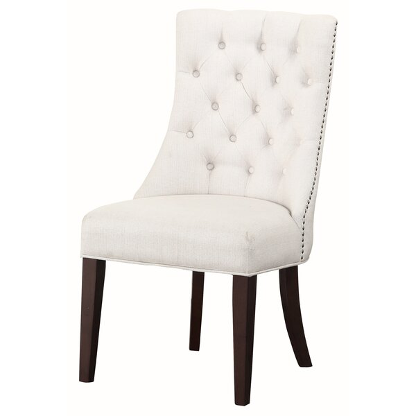 Carrera Upholstered Dining Chair by Charlton Home