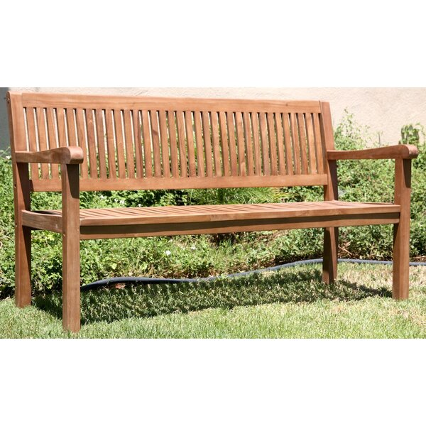 Teak Outdoor Wood Garden Bench by Trijaya Living
