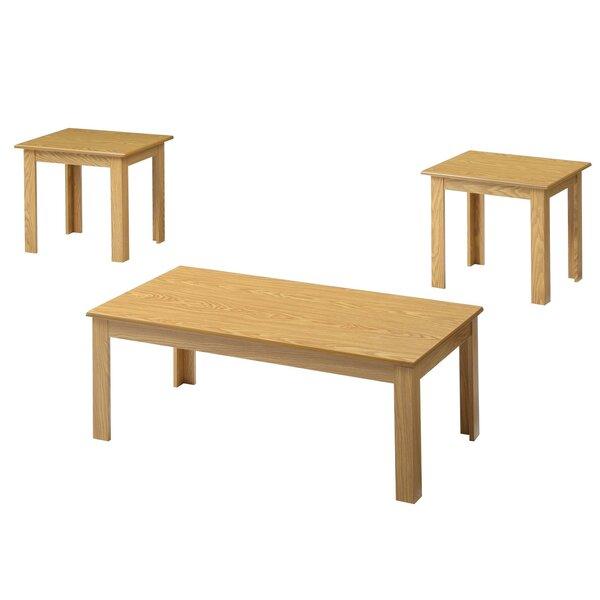 Almeida Cheatham 3 Piece Coffee Table Set by Red Barrel Studio Red Barrel Studio®