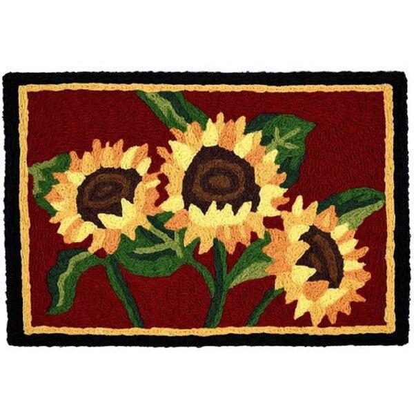 Spuyten Sunflower Bouquet Kitchen Mat