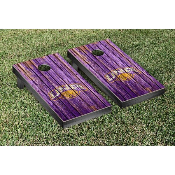 NCAA Weathered Design Cornhole Game Set by Victory Tailgate