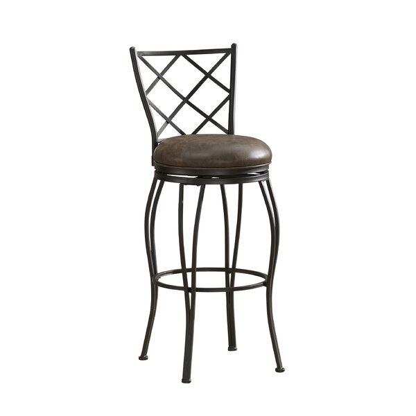 Ava 30 Swivel Bar Stool by American Heritage