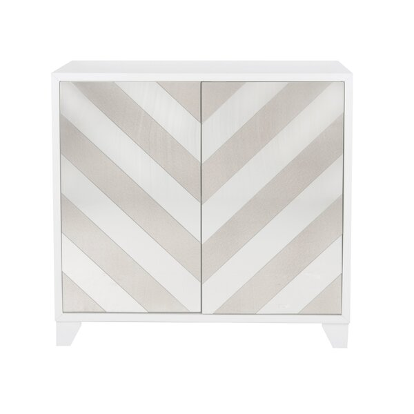 Contrast Mirror 2 Door Accent Cabinet by Willa Arlo Interiors Willa Arlo Interiors